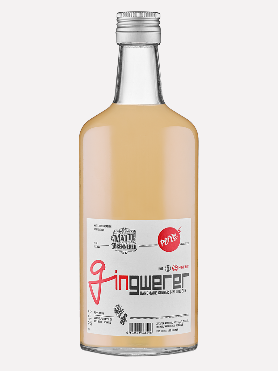 Gingwerer Ingwer-Gin-Likör